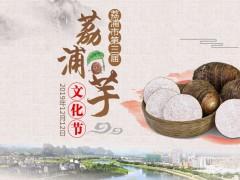 广西荔浦市举办第三届荔浦芋文化节