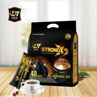 越南进口中原g7咖啡速溶浓醇特浓粉三合一1200g袋装原装48条