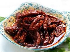红油牛肉干