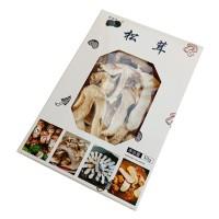 纸盒装干松茸   松茸干片    50g/盒
